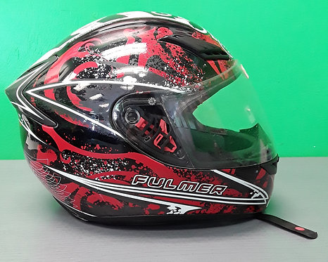 Fulmer Small Red/Black/White Helmet - St George