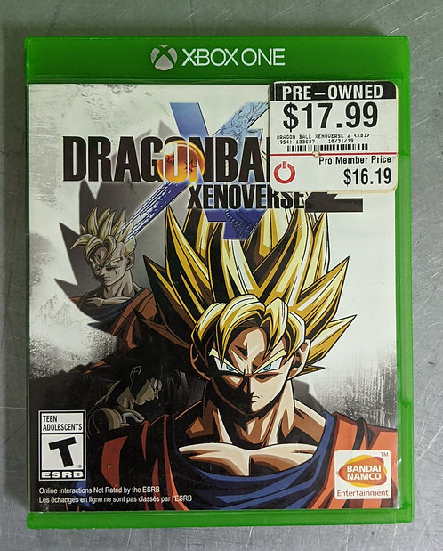 Dragon Ball Xenoverse 2 Game - Xbox One - Washington