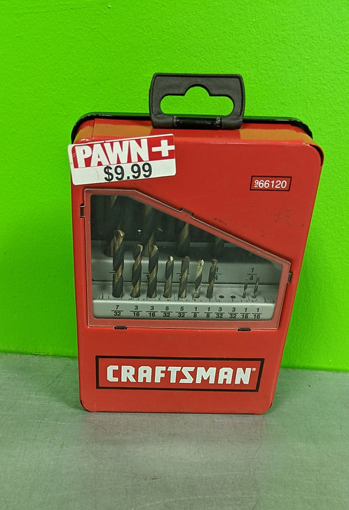 Craftsman 66120 Drill Bit Set 2 Missing Pcs