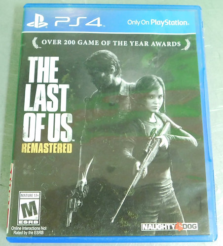 PS4 Game - The Last of Us : Remastered - Washington