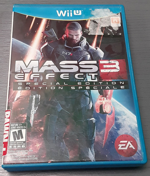 WIIU Game - Mass Effect 3 - St George