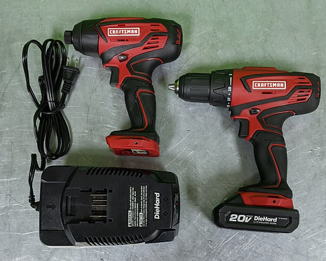 Craftsman 20v Drill/Driver - 45526 - Washington