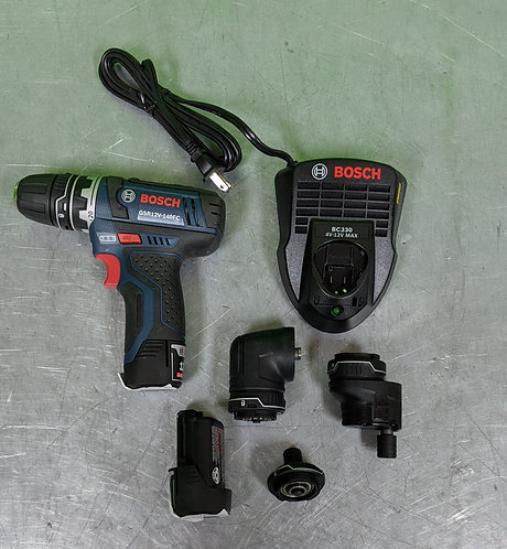 Bosch Drill w/ Multitool - GSR12V-140FC - Washington