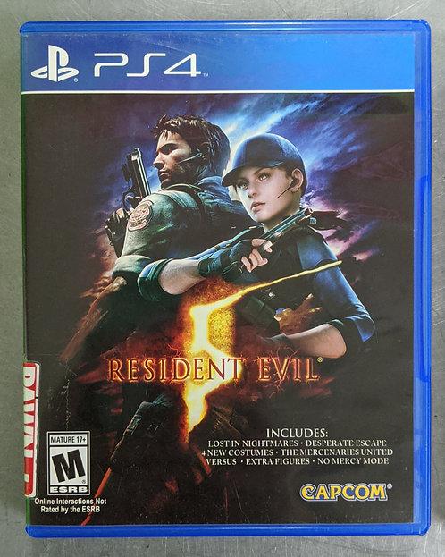 Resident Evil 5 Game - PS4 - Washington