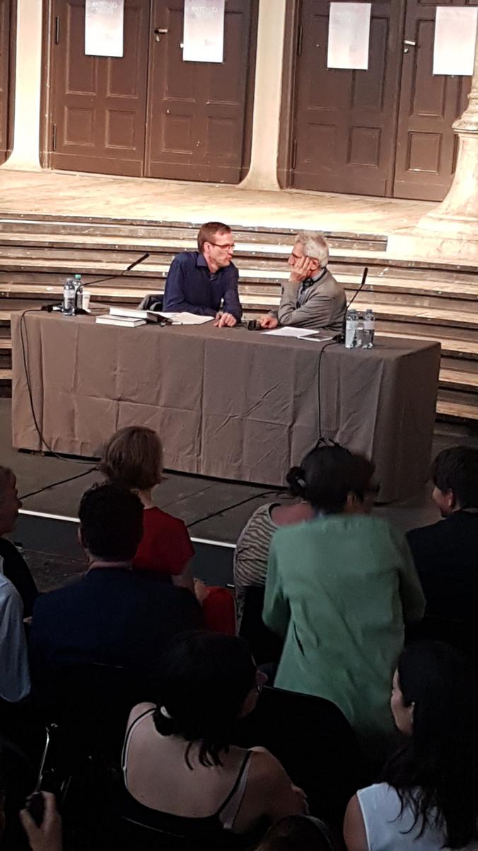 Antonio Negri lecture at Semperdepot