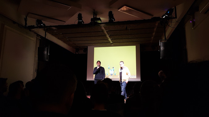 Pecha kucha +new tech meetup
