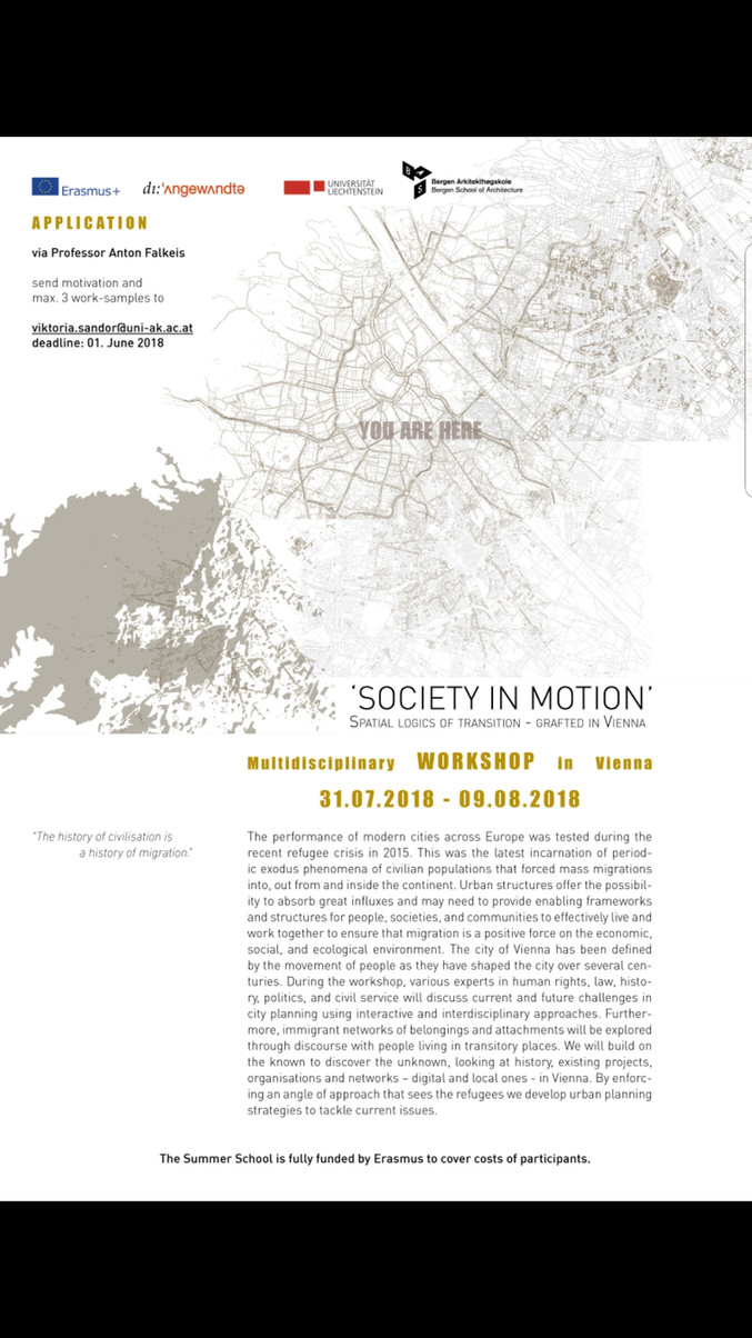 SOCIETY IN MOTION_apply now!!