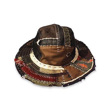 sojournerlondon SJ0801 patchworkfishing hat