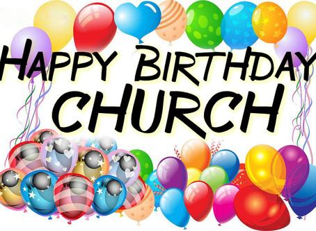 Happy Birthday Church!
