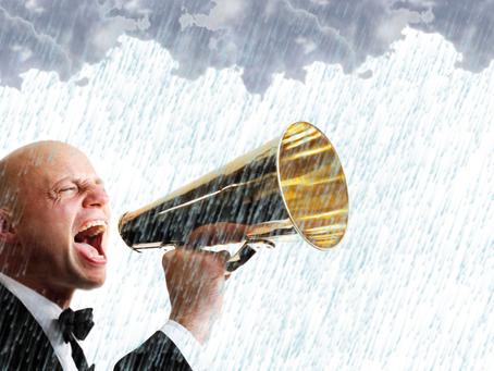 """""""Shouting at the Rain"""""""