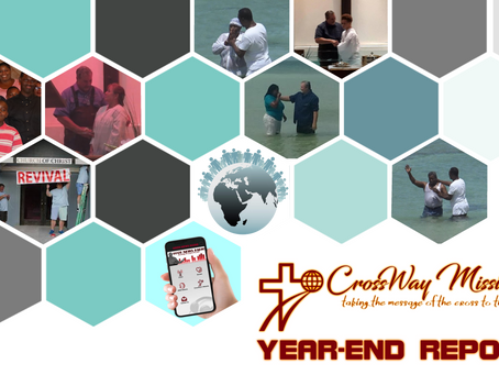 CrossWay Missions - Year-End Report