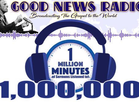 ONE MILLION MINUTES!