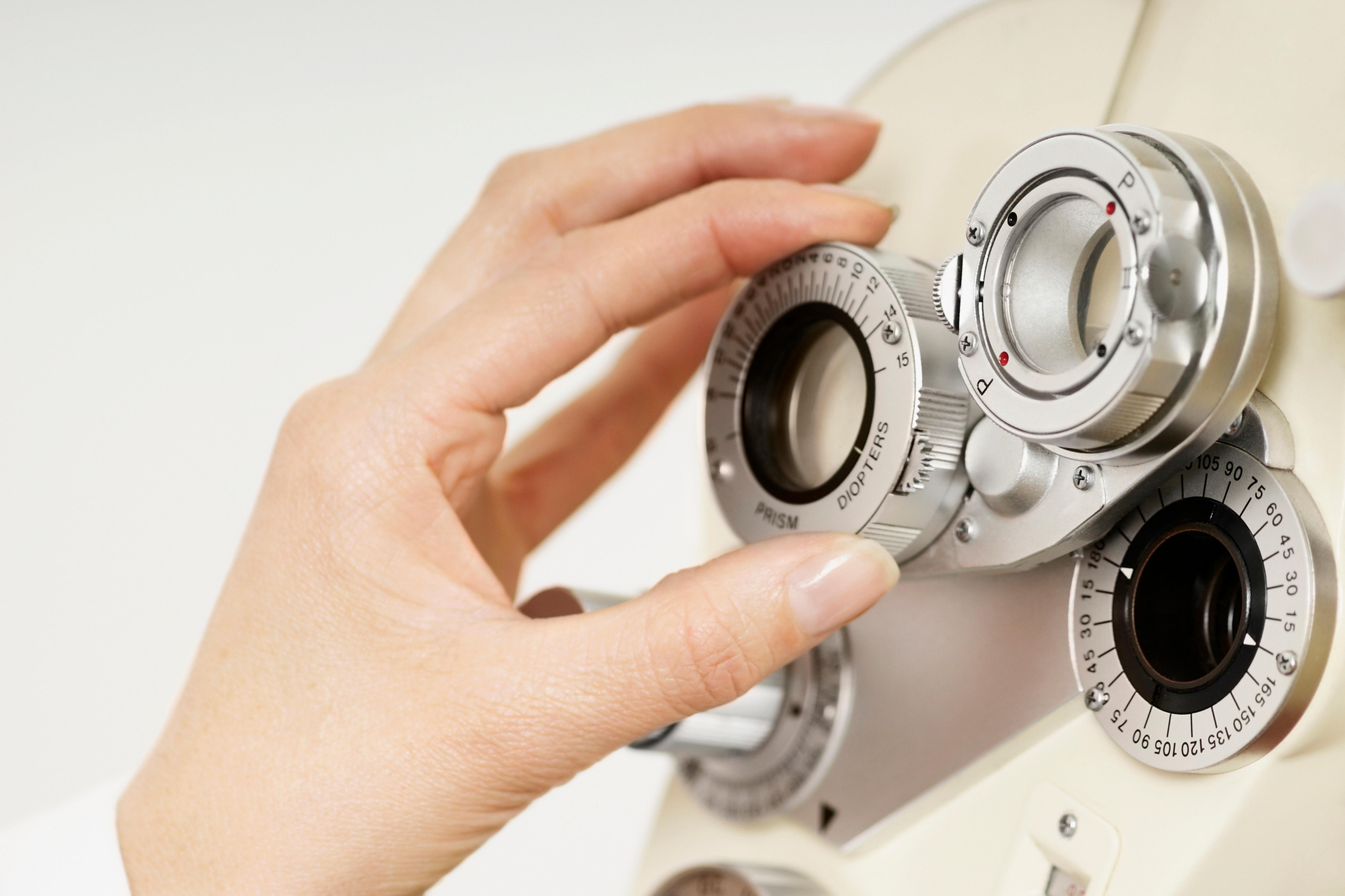 Examen general de la vista