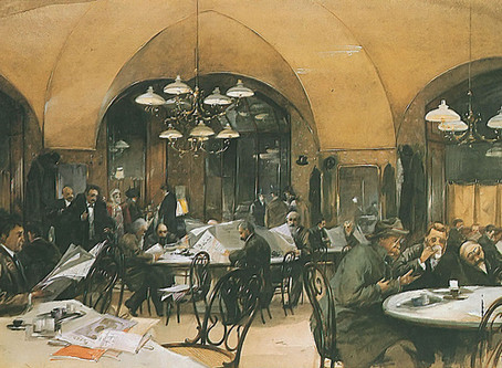 Die Geschichte des Wiener Kaffeehauses (DE)