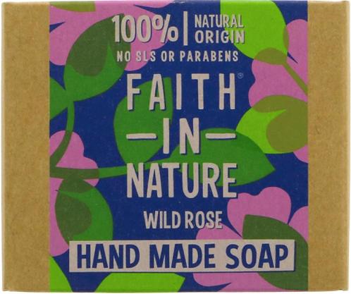Faith in Nature Wild Rose Soap Bar 100g