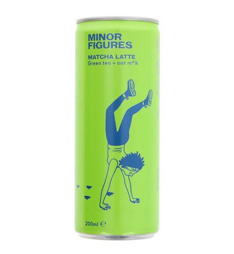 Minor Figures Nitro Cold Brew Coffee Matcha Latte 200ml