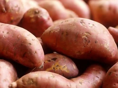 Organic sweet potatoes 200g