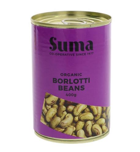 Organic Borlotti Beans 400g