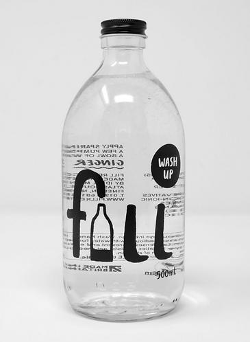 Washing Up 1L Glass Bottle