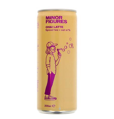 Minor Figures Nitro Cold Brew Coffee Chai Latte 200ml
