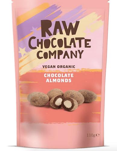 Raw Chocolate Almonds 110g