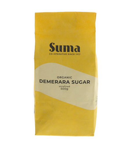Organic Demerara Sugar 500g (£0.78/100g)