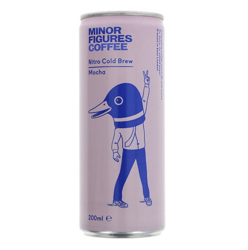 Minor Figures Nitro Cold Brew Coffee Mocha 200ml