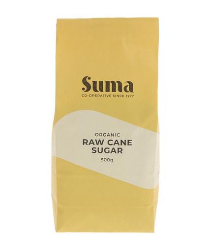 Organic Raw Sugar 500g (£0.70/100g)