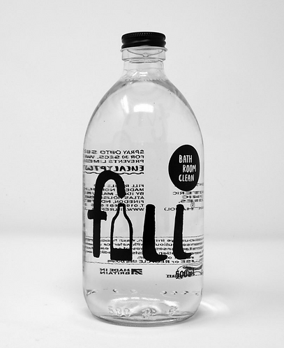 Bathroom Clean 1L Glass Bottle