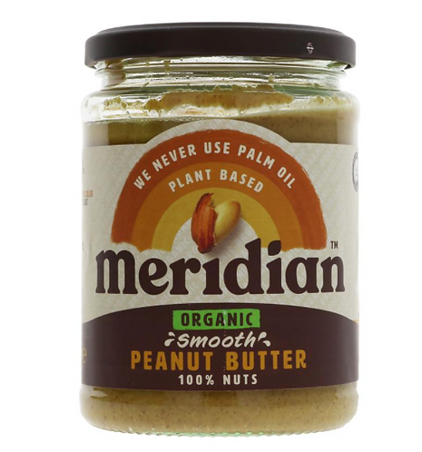 Meridian Organic Smooth Peanut Butter 470g