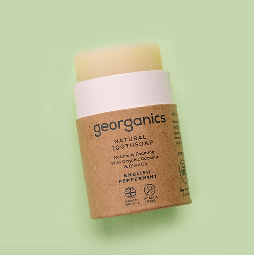 Georganics Toothsoap Peppermint 60ml