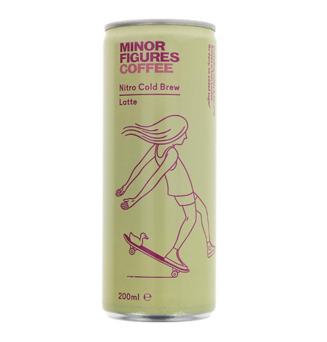 Minor Figures Nitro Cold Brew Coffee Latte 200ml