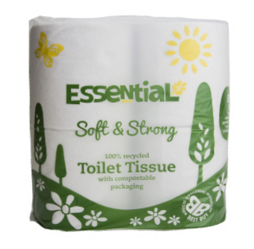 Recycled Toilet Tissue x4