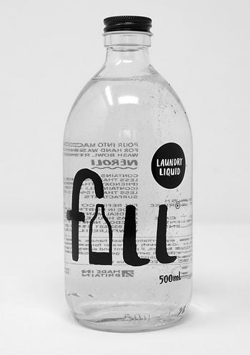 Laundry Liquid 1L Glass Bottle