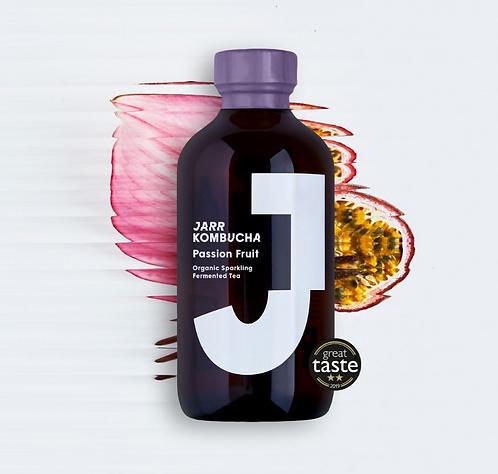 JARR Organic Kombucha Passion Fruit 240ml