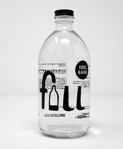Steel & Glass Clean 1L Glass Bottle