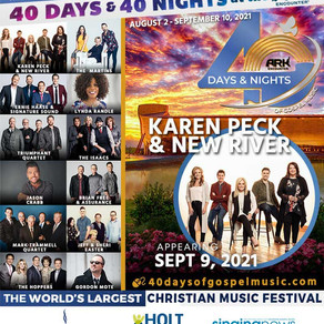 40 Days and 40 Nights is Here!
