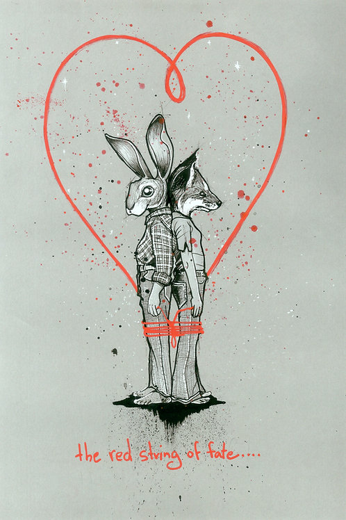 The Red String of Fate | Print - Limited Edition