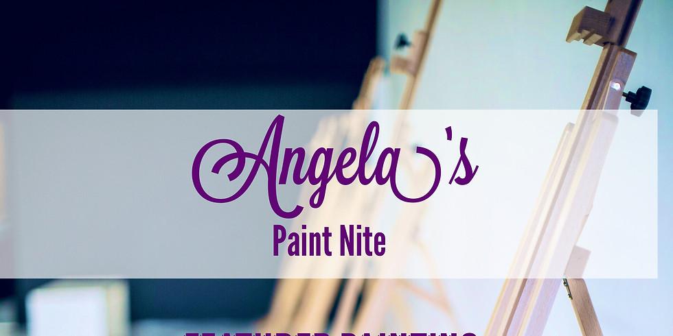 Angela's Paint Nite