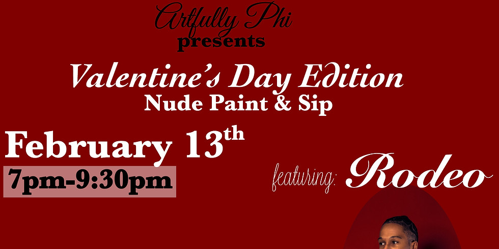 Nude Paint & Sip Valentine's Day Edition