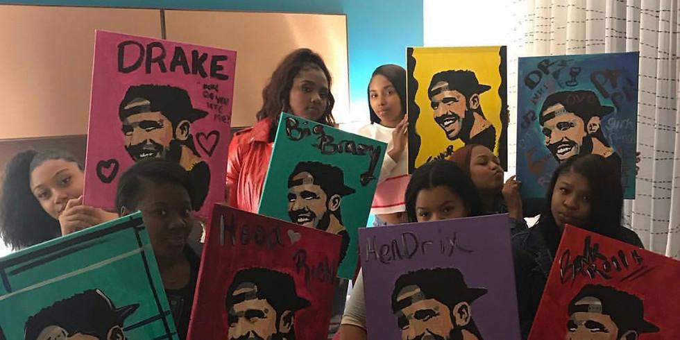 Drake After Dark Paint Nite