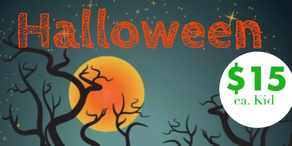 kids Halloween drop in Art Class