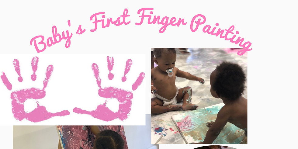 Baby's First Finger Paint Class