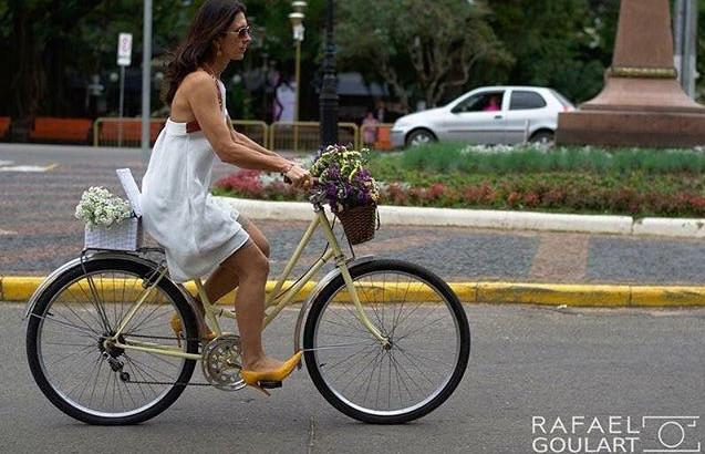 Quero ir de Bike e Salto Alto também!