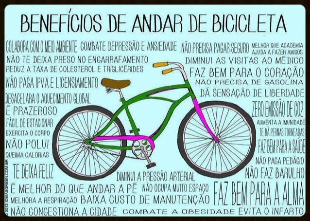 Benefícios para Mulheres que pedalam