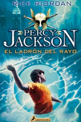 Percy Jackson El ladrón  del rayo de Rick Riordan