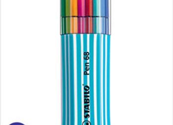 Marcador Stabilo Pen 68 Box 15 colores