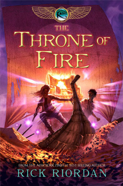 The Throne of Fire de Rick Riordan