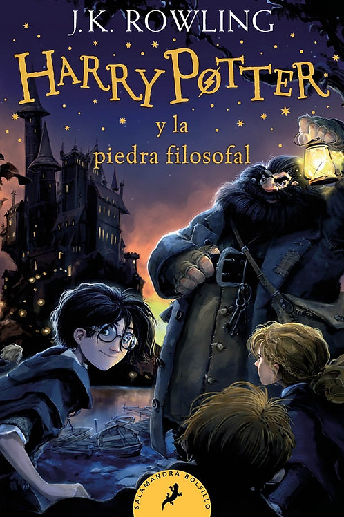 Harry Potter 1 ed. bolsillo