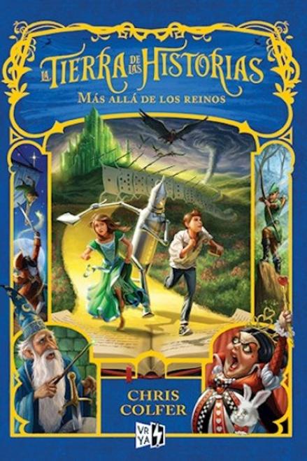 Tierra de las historias:más allá de los reinos de Chris Colfer